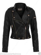 Manteaux et vestes en faux cuir pour femme Taille 36