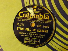 Disque 78 tour Columbia Carroll Gibbons Stars fell on Alabama/Judy