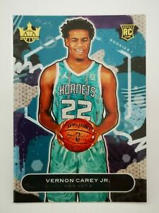 Panini Court Kings 2020-21 N30 card RC Vernon Carey Jr. #69 Charlotte Hornets