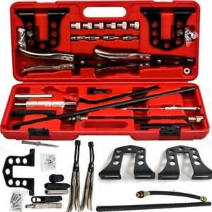 Cylinder Head Service Tool Set Valve Spring Compressor Removal Installer Kit