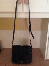 LOVELY NICA BLACK MESSENGER BAG USED GOOD CONDITION