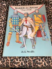 Knights In Armor By A.G. Smith Paper Doll Book Uncut 1995