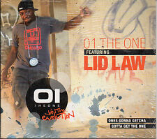 "01 THE ONE featuring LID LAW ""ONES IS GONNA GETCHA"" RARE DIGIPACK CD - SEALED"