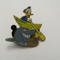 Disney DCL Captain's Choice Pin Donald Duck Shark Pin