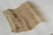 """1Pcs 16 18"""" 100g AAA Flip In Secret Wire With Clip 100% Human Hair Extensions"""