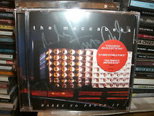 THE MACCABEES,MARKS TO PROVE IT,SIGNED CD