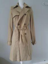 Womens Trench Coat Size 10 Tan Asos <FF3800