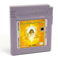 Daedalian Opus for Nintendo GameBoy (Game Boy), Cartridge, DMG-PU-USA