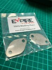 EGR BLanking Plates for Discovery 3 Jaguar XF XJ S-type 2.7 TDV6 - Empire Tuning