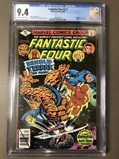 FANTASTIC FOUR #211 CGC 9.4 First TERRAX HERALD of GALACTUS 1979 OW/White Pages