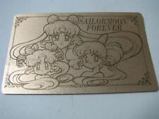 sailor moon Nakayoshi  Permanent membership card GoldJapan import