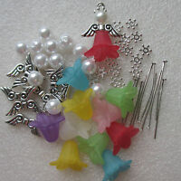 ANGEL KIT - MAKE YOUR OWN ANGEL CHARMS - KIT FOR 10 - 100 LUCITE SKIRT ANGELS