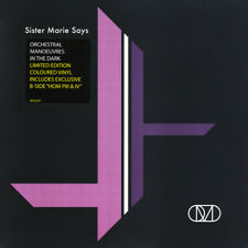 """Orchestral Manoeuvres In The Dark (OMD): Sister Marie Says Lilac Vinyl 7"""" Single"""