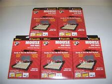 Lot Of 20 Mice Mouse Sticky Glue Traps Trays