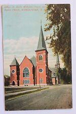 Old postcard ST. PAUL'S METHODIST CHURCH AND BAPTIST CHURCH, MANCHESTER, N.H.