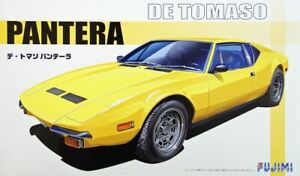 Fujimi Real Sports Car 1/24 De Tomaso Pantera Plastic Model