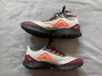 Nike Mens Air Zoom Pegasus 36 Trail Running Shoes White Orange Purple Size 8