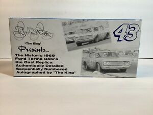 New 1:24 1969 Torino Cobra. Richard Petty. Hand Signed limited Edition.