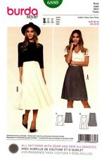 Burda Sewing Pattern 6880 Womens Skirts Size 10-20
