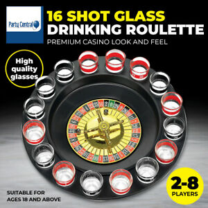 Party Central® Drinking Game Roulette Premium Quality Parties Hens Bucks Night