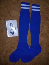 chaussettes/mi-bas de football - DUBOIS -  BLEUES  et balnches - Médium (37/40)