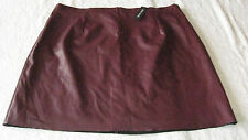 River Island Leather Patternless Skirts for Women