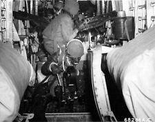 WWII B&W Photo B-24 Recon Cameraman in Action USAAF  WW2 World War Two  / 1142