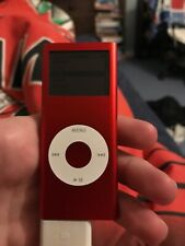 Ipod Nano Red 4gb Only Works When Charging Faulty Backlight 2nd Generation