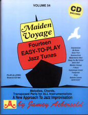 Jamey Aebersold Jazz Play-Along 54 Maiden Voyage Noten mit CD