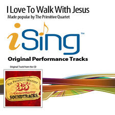 The Primitive Quartet - I Love to Walk With Jesus - Accompaniment Track