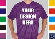 24 Custom Screen Printed TIE DYE T-Shirts TYE - $9.00 each