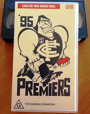 CARLTON 1995 PREMIERS - CARLTON vs GEELONG 1995 GRAND FINAL - VHS