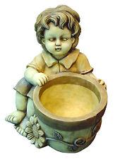 STATUA BIMBO con vaso