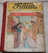 Ancien livre album journal complet année 1936 FILLETTE