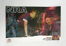 NRA - Machine Promo Poster Gearhead New full color punk rock Amsterdam