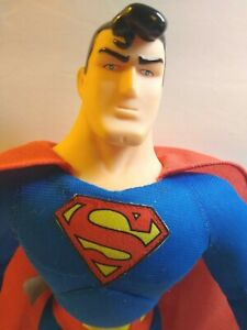 """Superman Plush Toy Doll 14"""" DC Comics With Tags Play By Play 1998 NOS Superhero"""