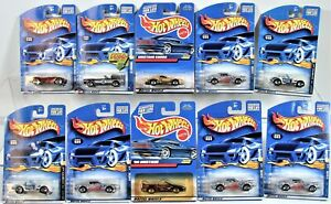Hot Wheels Mustang Cobra Shelby 427 S/C Lot of 10 Muscle New
