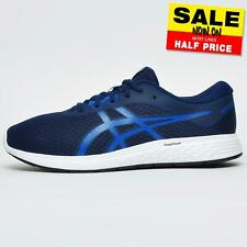 Asics Patriot 11 Men's Running Shoes Fitness Gym Sports Trainers Blue