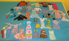 Original Barbie & Ken Clothes Lot 32 pcs Plus 8 Pairs of Shoes