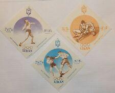 Lebanon Stamp B13-15 MNH  Sports Topical, Olympics Topical
