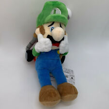 "Super Mario Luigi's Mansion 2 Luigi Plush Doll Soft Toy Stuffed Animal 10"""