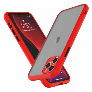 SHOCKPROOF Hard clear Case For iPhone 13 12 11 Pro MAX Mini XR XS 7/8 PLUS Cover
