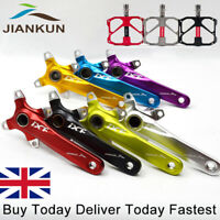 7Colors Single/Double/Triple 104bcd MTB Road Bike Chainset Crank set 9/16 Pedal