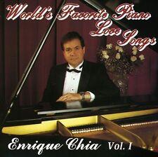 Enrique Chia - World's Favorite Piano Love Songs 1 [New CD]
