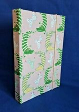 """Alligators and Cactus 6""""x 9"""" Sketch Book, hand bound in Germany."""