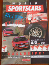 World Sports Cars Spring 1988 Lancia Delta Integrale vs Toyota Celica GT4