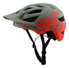 Troy Lee Designs A1 MIPS Classic Youth Mountain Bike Helmet Orange/Gray