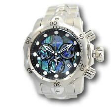Invicta Reserve Venom Men's Abalone Stainless Swiss Chronograph Watch RARE 26578