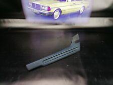 Mercedes W123 Original seat rail hinge cover plastic trim blue