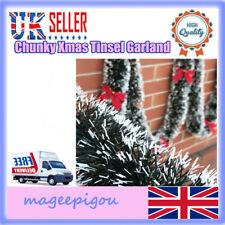 MULTIPLE BUYS x1 x3 x5 x10 RED TINSEL Christmas Tree Tinsel 190cm Over 6ft